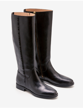 Malvern Knee High Boots by Boden