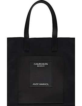 """Dennis Hopper"" Leather Tote Bag by Calvin Klein 205 W39 Nyc"