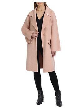 Badgley Mischka Madi Wool Blend Coat by Badgley Mischka