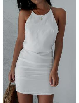 Testino Dress   White by Lioness