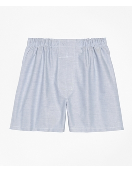 Traditional Fit Oxford Boxers by Brooks Brothers