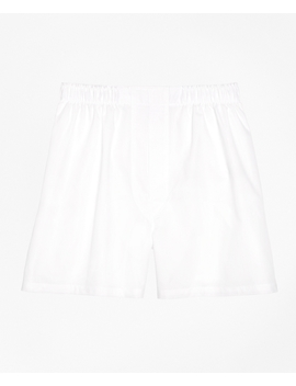 Traditional Fit Broadcloth Boxers by Brooks Brothers