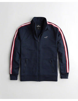 Full Zip Track Jacket by Hollister