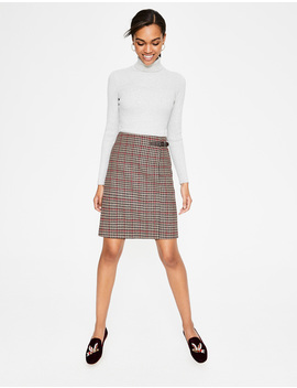Faye Tweed Kilt by Boden