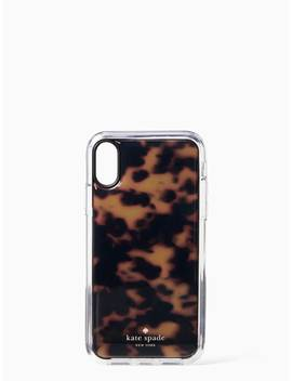 Tortoise Shell Hands Free Iphone Xr Case by Kate Spade