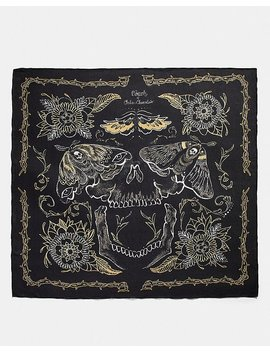 Tattoo Skull Oversized Square by Coach
