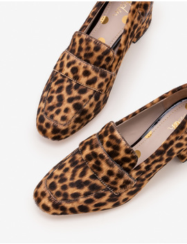 Alicia Heeled Loafers by Boden