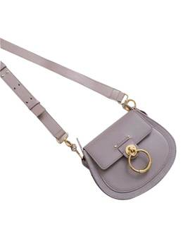 Daine Leather And Suede Cross Body Bag   Small by Jessica Buurman