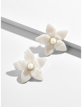 Mini Amariella Flower Stud Resin Earrings by Baublebar