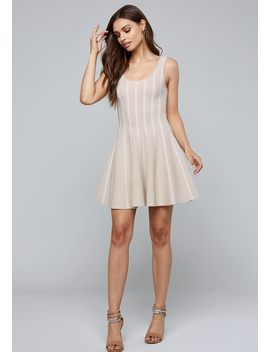 Leilani Fit &Amp; Flare Dress by Bebe