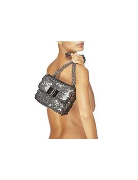 Gunmetal Sequin Natalia by Tom Ford