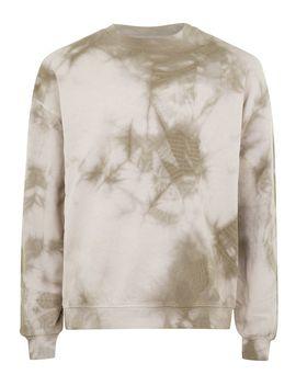 Stone And Brown Wash Sweatshirt by Topman