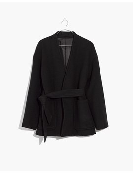 Belted Wrap Coat by Madewell