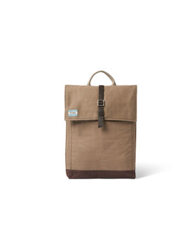 Olive Utility Canvas Trekker Backpack by Toms