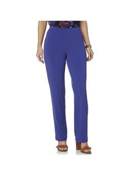 Jaclyn Smith Women's Microfiber Pants by Jaclyn Smith