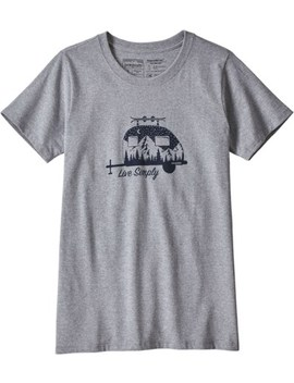 Patagonia   Live Simply Responsibili Tee T Shirt   Women's by Patagonia