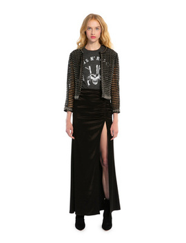Diana Ruched Maxi Skirt by Alice And Olivia