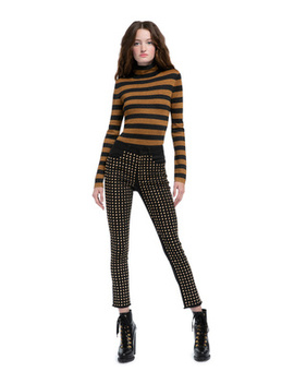 Kirk Studded Skinny Jean by Alice And Olivia