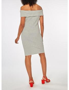 **Vila White And Black Striped Shift Dress by Dorothy Perkins