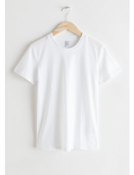 Cotton T Shirt by & Other Stories