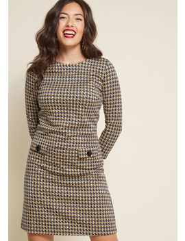 Move Toward Mod Knit Dress by Modcloth