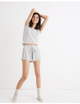 Ruffled Pajama Shorts by Madewell