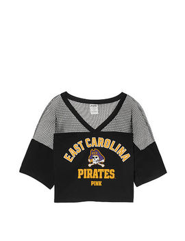 East Carolina University Athletic Mesh Tee by Victoria's Secret