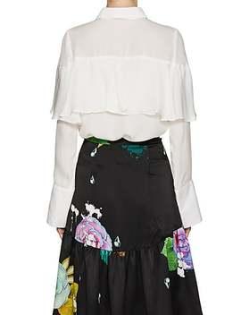 Tieneck Silk Blouse by Cynthia Rowley