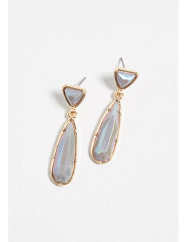 Undoubtedly Iridescent Earrings by Modcloth