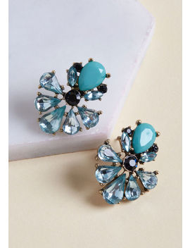 Hues Of Happiness Stud Earrings by Modcloth