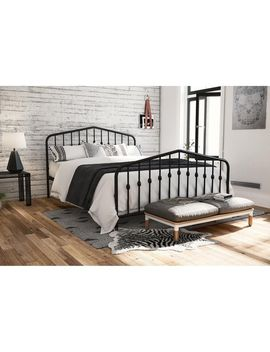The Gray Barn Latigo Metal Platform Bed by The Gray Barn