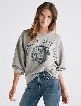 Lucky Varsity Pullover by Lucky Brand