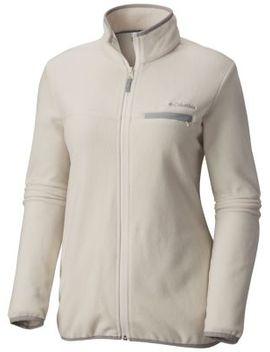 Women's Mountain Crest™ Fleece Full Zip Jacket by Columbia Sportswear