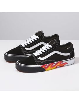 Flame Cut Out Old Skool by Vans