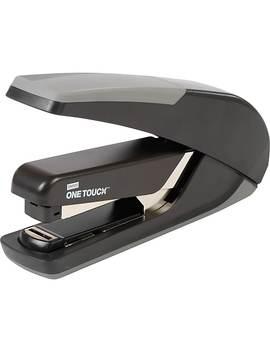 Staples One Touch™ Plus Desktop Flat Stack Full Strip Stapler, 30 Sheet Capacity, Black by Staples