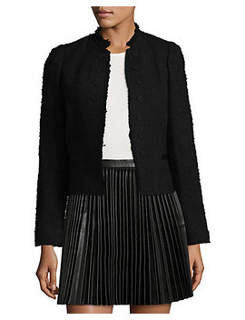 Rebecca Taylor Boucle Tweed Jacket by Rebecca Taylor