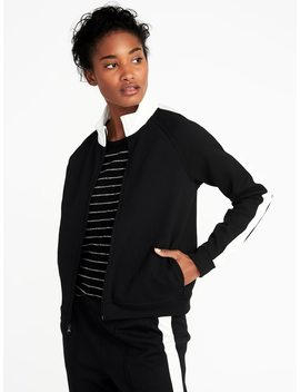 Color Block Zip Track Jacket For Women by Old Navy