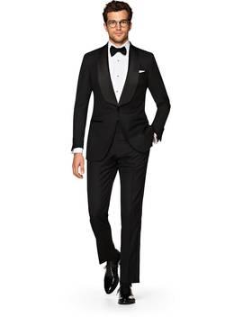 Washington Black Plain Tuxedo by Suitsupply