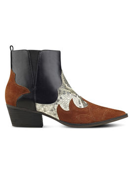 Cedar Western Inspired Booties by Nine West