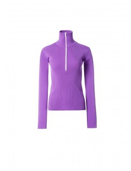 Tech Poly Track Zip Up Pullover by Tibi