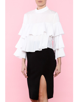 Fun &Amp; Frilly Blouse by Bella Bella, Louisiana