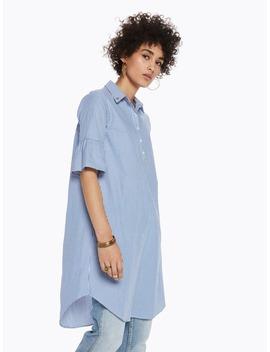 Ruffle Sleeve Shirt Dress by Scotch&Soda