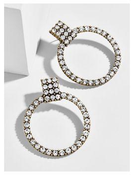 Women's Gemma Hoop Earrings by Bauble Bar