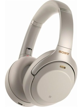 Wh 1000 Xm3 Wireless Noise Canceling Over The Ear Headphones   Silver by Sony