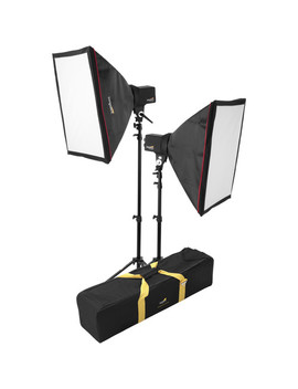 Two Monolight Kit With Bag (120 Vac) by Impact