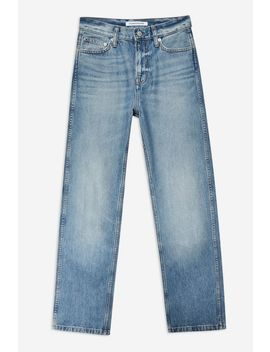 High Rise Straight Jeans By Calvin Klein by Topshop