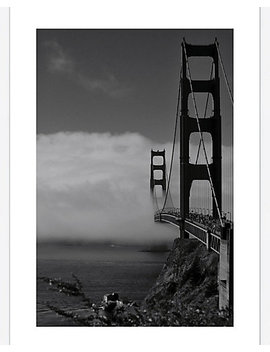 Golden Gate Fog By Sabri Irmak by Mc Gaw Graphics