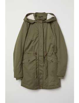 Padded Parka With A Hood by H&M