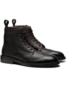 Dark Brown Boot by Suitsupply