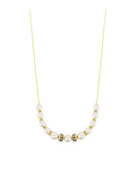 Pearl Slider Necklace by Henri Bendel